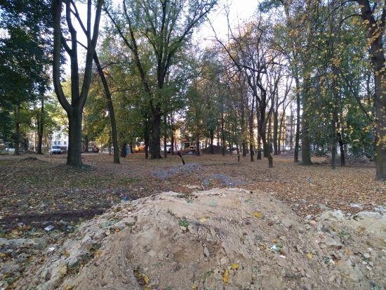 Trwa rewitalizacja parku przy ul. Dąbrowskiego [FOTO] - Aktualności Rzeszów - zdj. 21